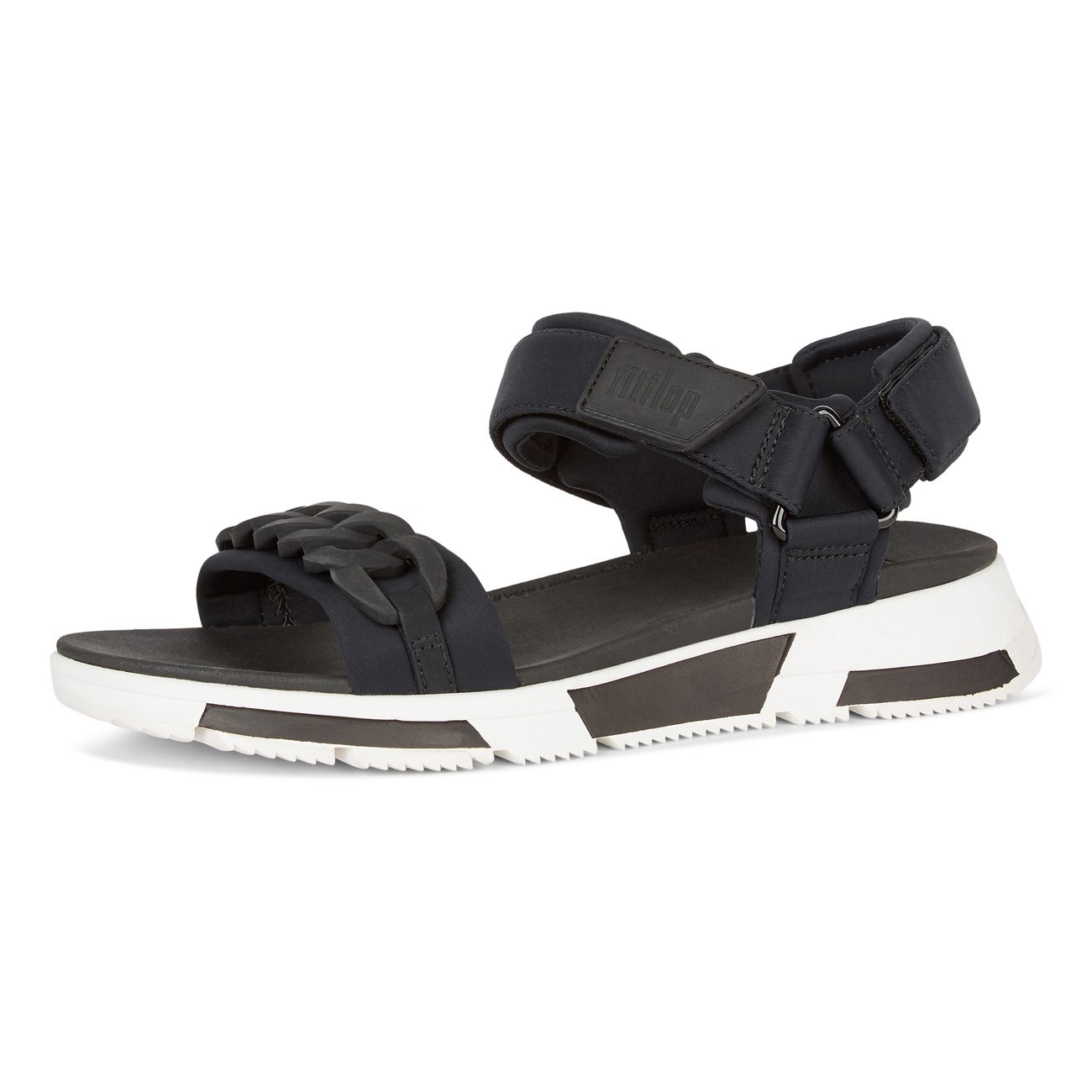 Heda Chain Back-Strap Sandals