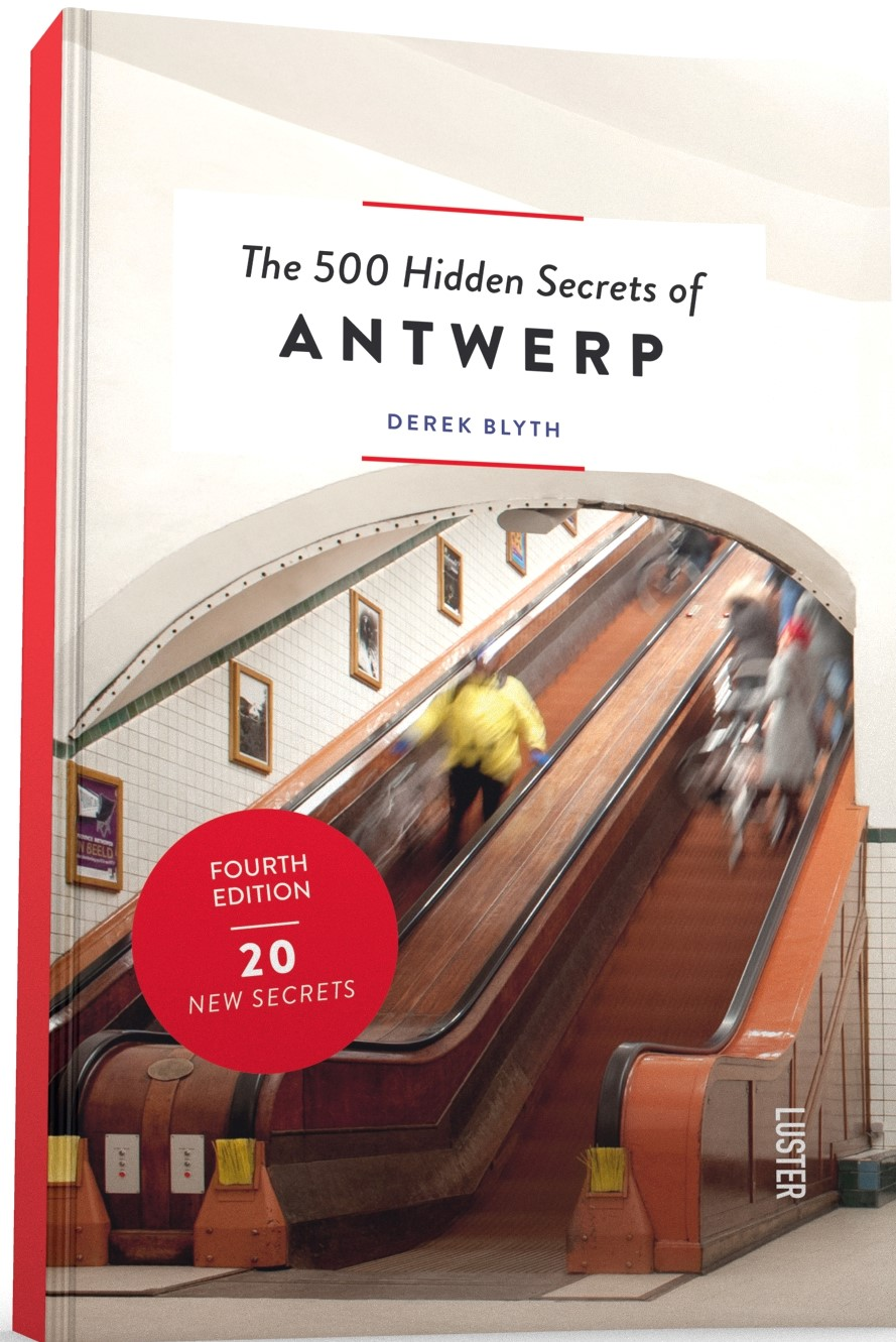 500 hidden secrets of Antwerp luster